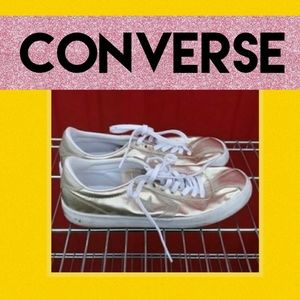 Gold Converse Size 8.5